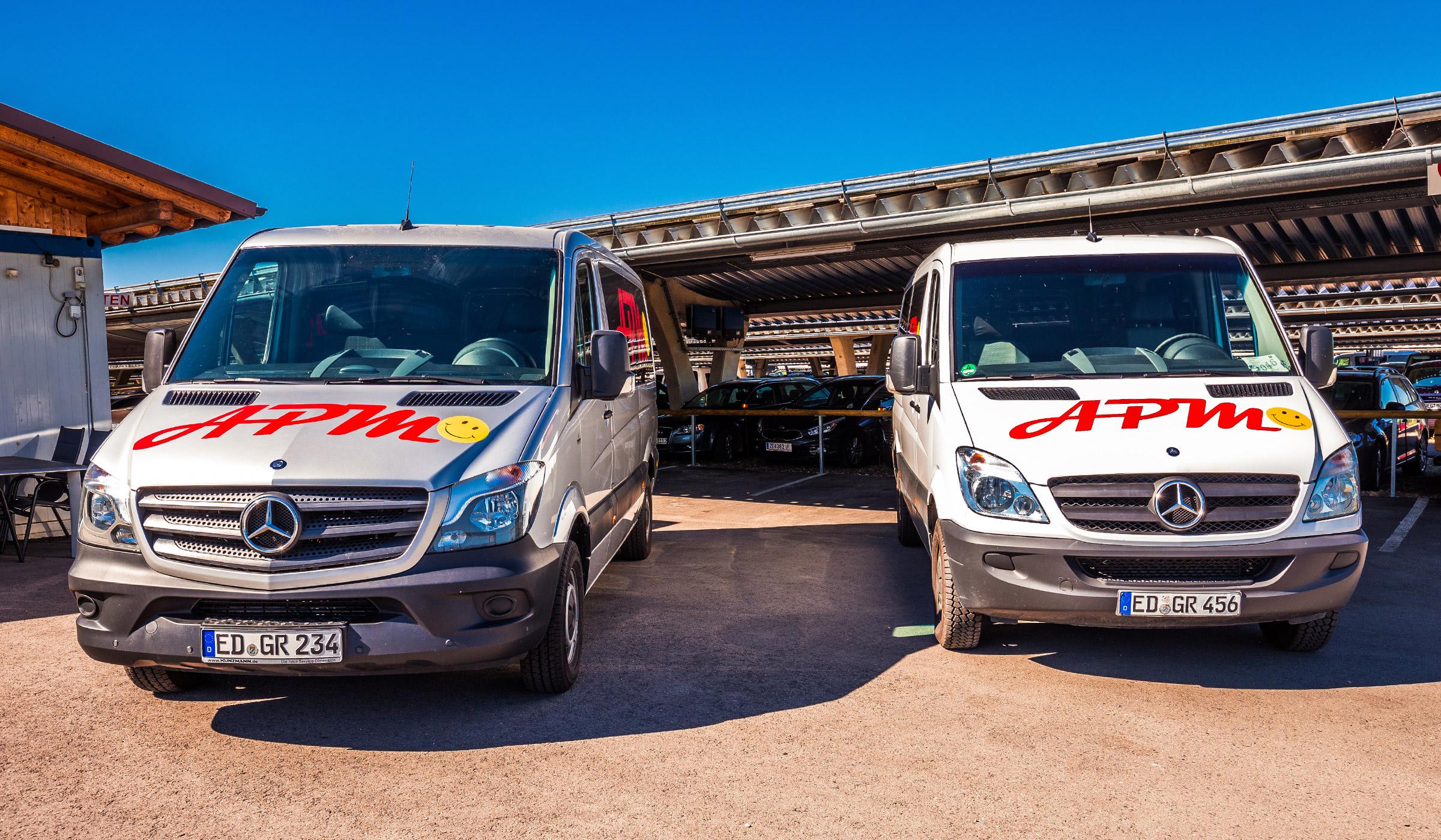 APM Parkservice - Fahrzeuge