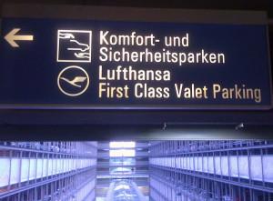 Komfort- und Sicherheitsparken Flughafen München Anfahrt (Lufthansa)