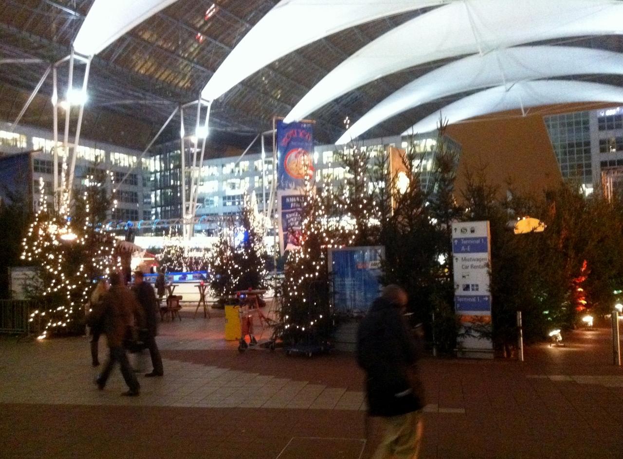 Flughafen Weihnachtsmarkt
