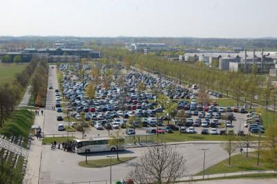 Parkplaetze Flughafen MUC