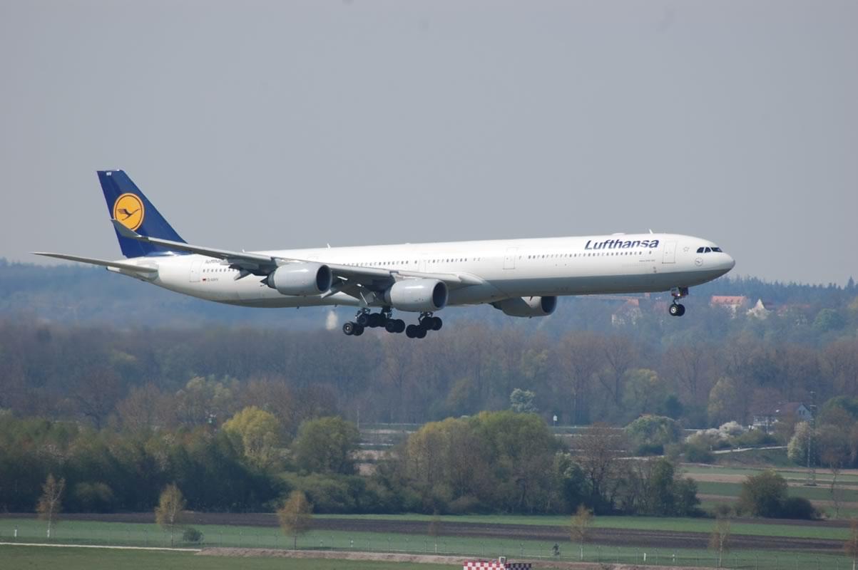 Flughafen München Landeanflug
