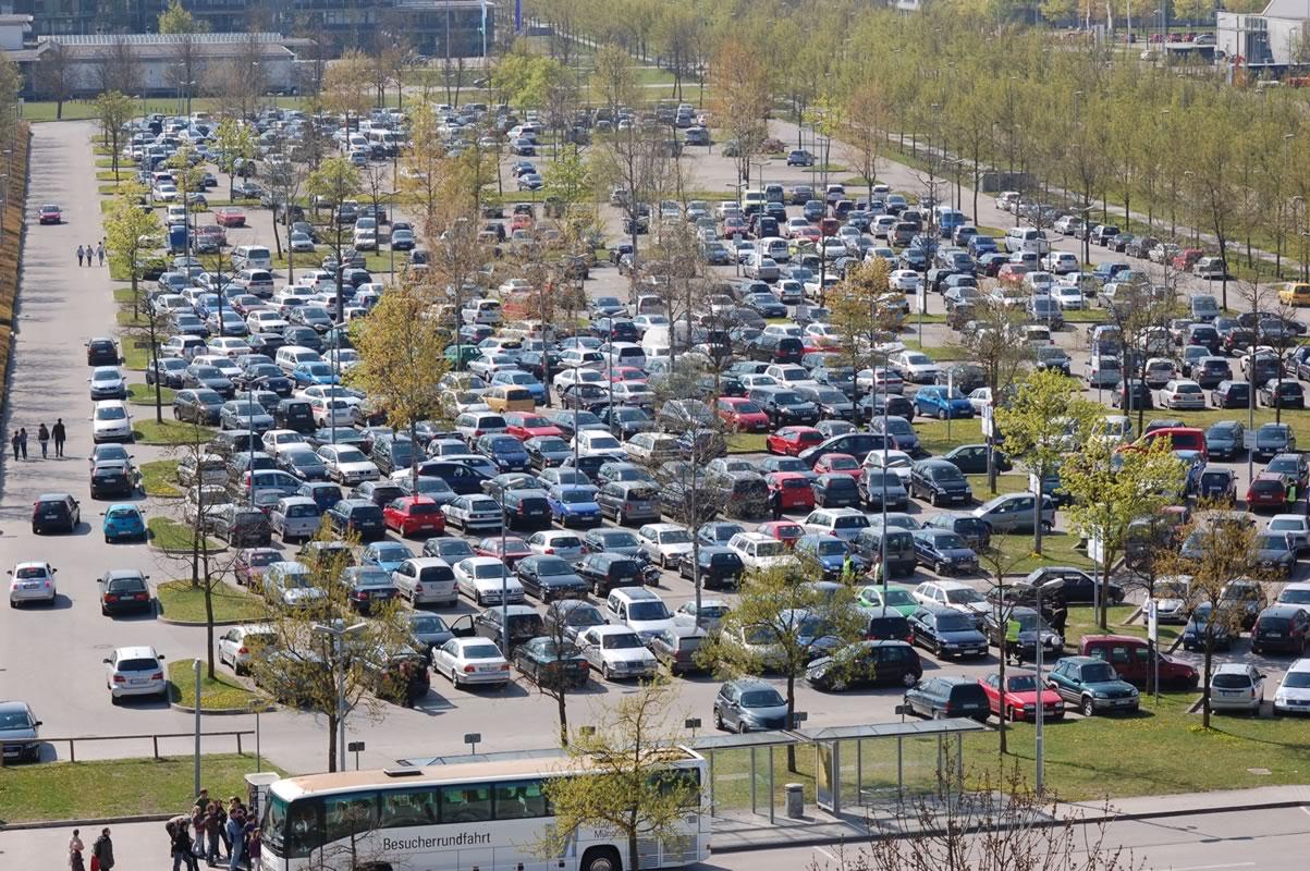 Parken in Hallbergmoos