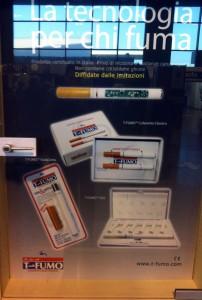 Elektrische Zigarette am Flughafen z.B. Mailand Malpensa