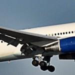 Eine Boidng 767 der Condor Arilines beim Start
