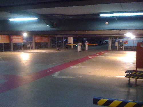 Audi Sicherheitsparken Einfahrt